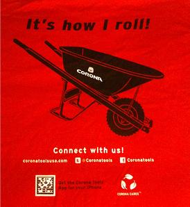 wheelbarrows corona tools