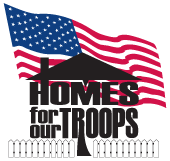 Homes For Our Troops logo