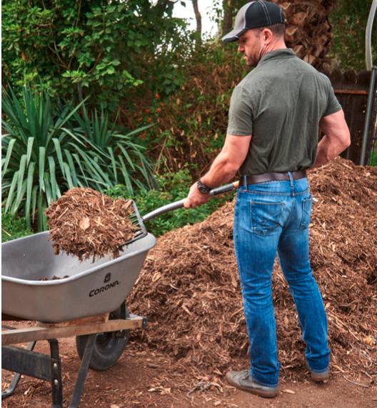 corona fork mulch